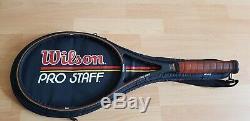 Wilson Pro Staff 6.0 85 St. Vincent Sampras Roger Federer Tennisschläger Top L4