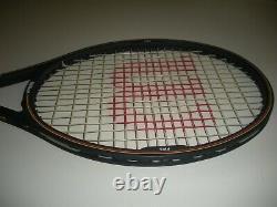 Wilson Pro Staff 6.0 Midsize 85 Tennis Racquet 4 1/2 Chicago Bumperless