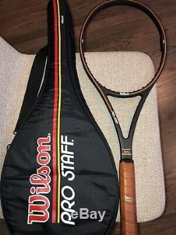 Wilson Pro Staff 6.0 Midsize 85 Tennis Racquet 4 1/2 St. Vincent