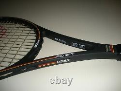 Wilson Pro Staff 6.0 Midsize 85 Tennis Racquet 4 1/2 St. Vincent Bumperless