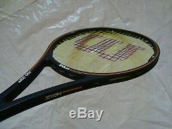 Wilson Pro Staff 6.0 Midsize 85 Tennis Racquet 4 1/4 St. Vincent Bumperless'GMQ