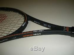 Wilson Pro Staff 6.0 Midsize 85 Tennis Racquet 4 3/8 St. Vincent Bumperless