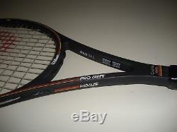Wilson Pro Staff 6.0 Midsize 85 Tennis Racquet 4 5/8 St. Vincent Bumperless