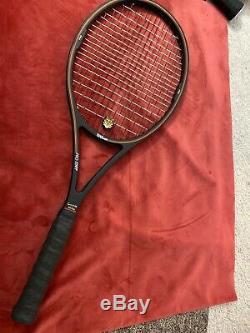 Wilson Pro Staff 6.0 Midsize 85 Tennis Racquet St. Vincent Cap (QSA) with Grommets