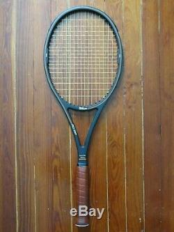 Wilson Pro Staff 85 tennis racquet graphite with kevlar St Vincent with case 4 1/2