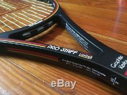 Wilson Pro Staff 95 Limited Edition tennis racquet Japan 4 1/4 VS gut