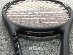 Wilson Pro Staff 97 Countervail STRUNG 4 1/2 (Tennis Racket CV 2018 Matte Black)