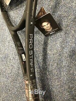 Wilson Pro Staff 97 Rf Autograph Roger Federer Tennis Racket Grip 3 Strung