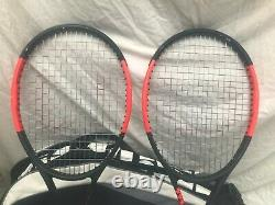 Wilson Pro Staff 97 v11.0 tennis rackets, (2 rackets) comes with Wilson bag