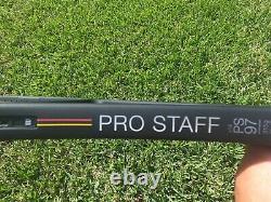 Wilson Pro Staff 97 v13 Tennis Racquet Black