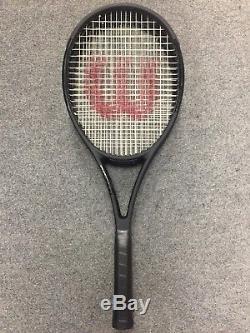 Wilson Pro Staff 97L Countervail STRUNG 4 3/8 Tennis Racket CV 2018 Matte Black