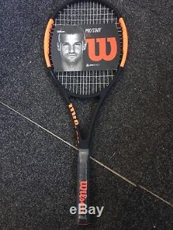 Wilson Pro Staff 97S Tennis Racket 2017 Grip Size UK 4 BRAND NEW! STRUNG
