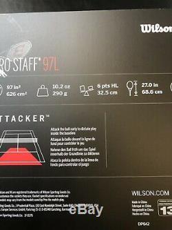 Wilson Pro Staff 97l Tennis Racket Grip 3 Rrp £195.00