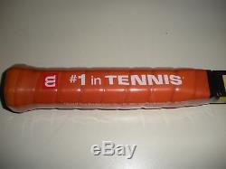 Wilson Pro Staff Classic 85 6.0 Paint Job Edberg Tennis Racquet 4 1/2 Brand New