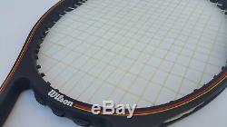 Wilson Pro Staff MidSize 4 5/8 Grip Graphite Tennis Racket Racquet & Case