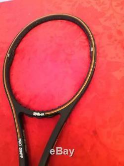 Wilson Pro Staff Midsize 85 St. Vincent Sampras 4 5/8 8.5/10 BXQ Tennis Racquet