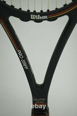 Wilson Pro Staff Midsize Graphite Made with Kevlar 4 1/2 (L4) PWS