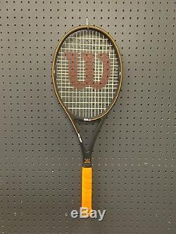 Wilson Pro Staff Midsize St. Vincent Hpq Tennis Racquet 4-1/2 Rare Sampras