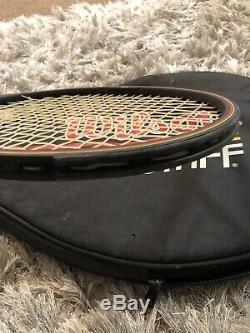 Wilson Pro Staff Midsize Tennis Racquet 4 3/8 Case Graphite St Vincent Wi