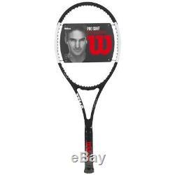 Wilson Pro Staff RF 97 Autograph Black/White Tennis Racquet Grip Size 4 1/8
