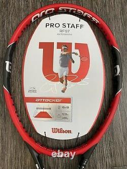 Wilson Pro Staff RF97 2015 Roger Federer Autograph Tennis Racket L3 4 3/8 NEW