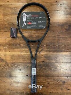 Wilson Pro Staff RF97 Autograph Black Racket Grip 4 1/4 Tennis Racquet NEW