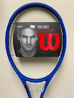Wilson Pro Staff RF97 Autograph Laver Cup Tennis Racquet Grip Size 4 3/8