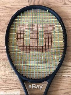 Wilson Pro Staff RF97 Autograph Tennis Racket 4 1/2