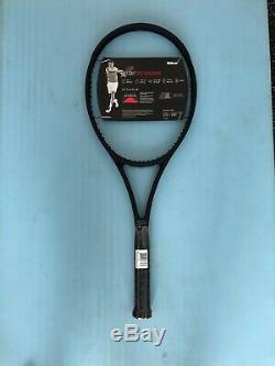 Wilson Pro Staff RF97 Autograph Tennis Racquet 4 3/8 Federer BLACK NEW