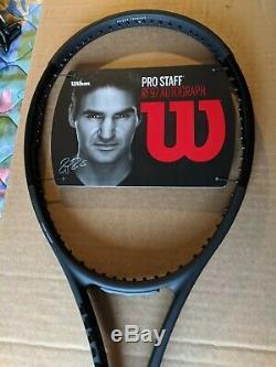 Wilson Pro Staff RF97 Autograph Tennis Racquet New L3 Grip