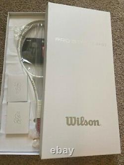 Wilson Pro Staff RF97 Autograph White 4 1/4 Custom Special Edition