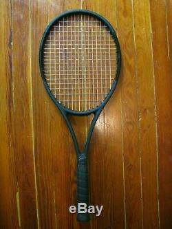 Wilson Pro Staff RF97 Autograph tennis racquet 4 1/2 black