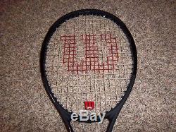 Wilson Pro Staff RF97 Roger Federer Autograph Black Tennis Racquet Grip 4 5/8
