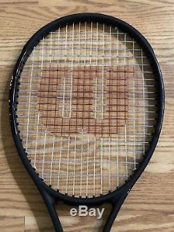 Wilson Pro Staff RF97 Roger Federer Autograph Tennis Racket 4 1/2