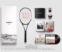 Wilson Pro Staff RF97 Tuxedo Autograph Limited Edition Box PLAY YOUR HEART OUT