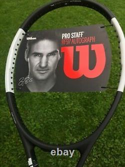 Wilson Pro Staff RF97 Tuxedo Autograph Tennis Racket (G2)
