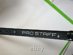Wilson Pro Staff RF97 autograph, grip 3, 340g 27 tennis racket, unstrung