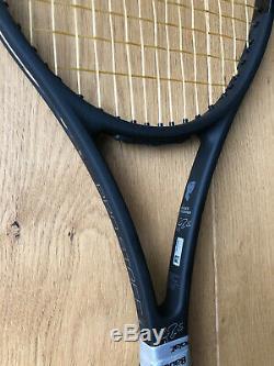 Wilson Pro Staff Rf97 Auto Grip 3, R. Federer black edition, 1 new& 1 used bundle