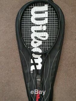 Wilson Pro Staff Rf97 Autograph Strung Grip 3, Roger Federer black edition, new