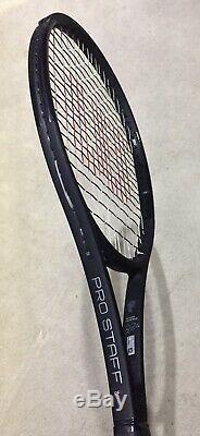 Wilson Pro Staff Rf97 Autograph Tennis Racket Grip3 All Black edition