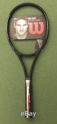 Wilson Pro Staff Rf97 Autograph Tennis Racquet, 4 3/8, Federer, New