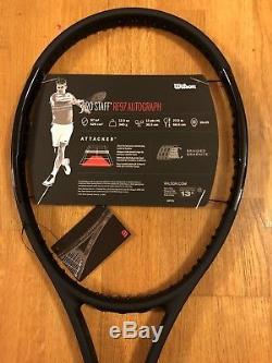 Wilson Pro Staff Rf97 Autograph Tennis Racquet, 4 3/8, Federer, New Unstrung