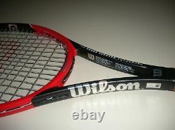 Wilson Pro Staff Rf97 Federer Autograph Tennis Racquet 4 3/8 (new Strings) 2015