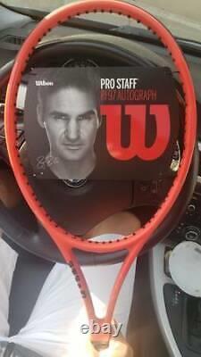 Wilson Pro Staff Rf97 Laver Cup Tennis Racquet 4 3/8 Brand New 2018 Federer