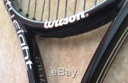 Wilson Pro Stock H19 paintjob BLX Blade 98 personal Gaël Monfils frame