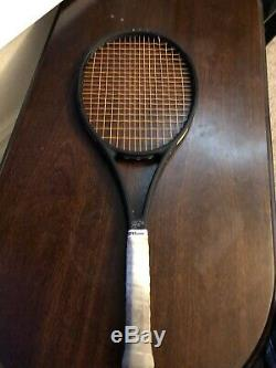 Wilson Pro staff RF97 Autograph Tennis Racket Black (Roger Federer) GRIP L3