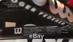 Wilson ProStaff RF97 (Roger Federer) Autograph Tennis Rackets x 2 Grip x 4