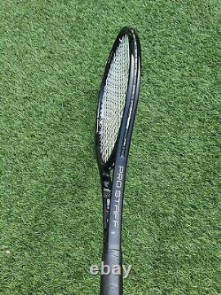 Wilson Prostaff 97 Rf Autograph Roger Federer Tennis Racket 4 1/4 Mint Condition