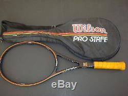 Wilson Prostaff Pro Staff 6.0 Original 85 MID 4-1/2, 8/10 Minty, Inv=10552