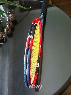 Wilson RF 97 Pro Staff Six One K Factor BLX Tennisschläger Racket L3 L6 Federer